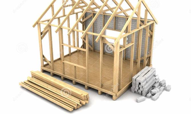 Construction Framing House Clipart Collection