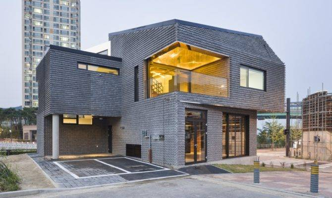 Contemporary Basalt Brick House Sustainably Built South