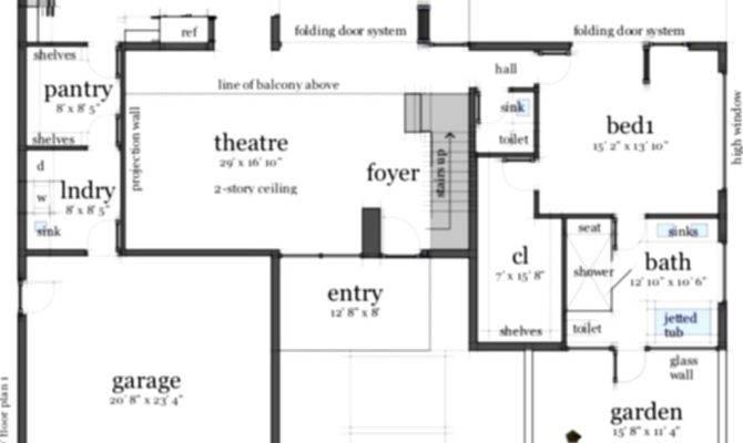 Contemporary Beach House Floor Plans