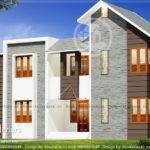 Contemporary Bhk Double Floor Home Design