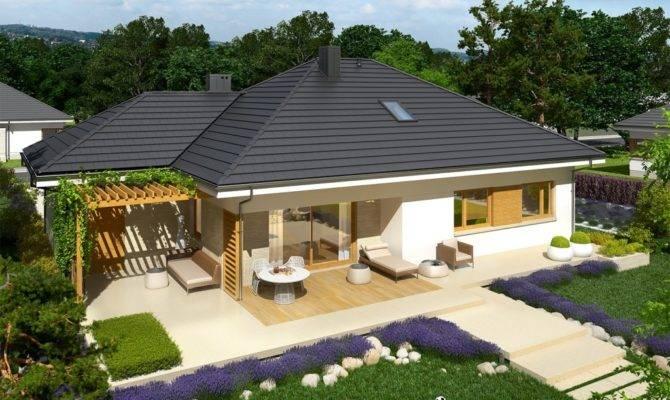 Contemporary Breathtaking Single Storey House Home Design