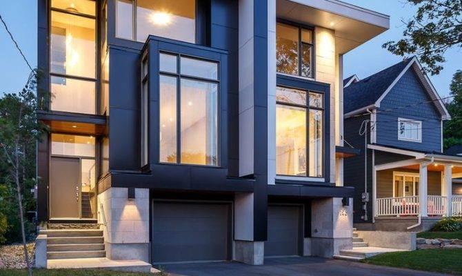 Contemporary Duplex Plans Home Design