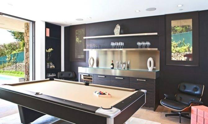 Contemporary Game Room Winslow Hide Blocks Rug Pool