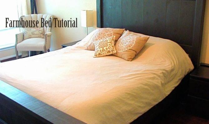 Contemporary Harbor Farmhouse Style Bed Frame