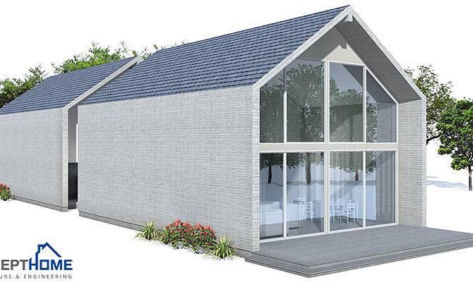 Contemporary Home Design Plans Narrow Lot
