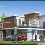 Contemporary House Elevation Square Meter
