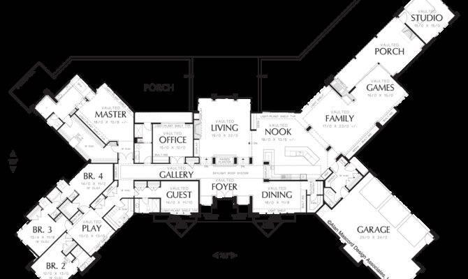 Contemporary House Plan Harrisburg Sqft