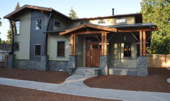 Contemporary House Plans Craftsman Bungalow Style