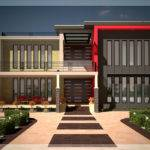Contemporary Luxury Villa Floor Plan Kerala Home Design
