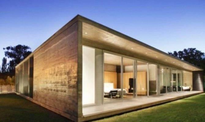Contemporary Minimalist Wooden House Design Home Ideas