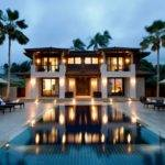 Contemporary Nice Houses Pools Swimming Pool Modern House