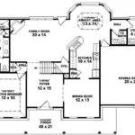 Contemporary One Half Story House Plans