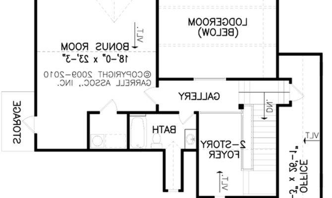 Contemporary One Story House Plans