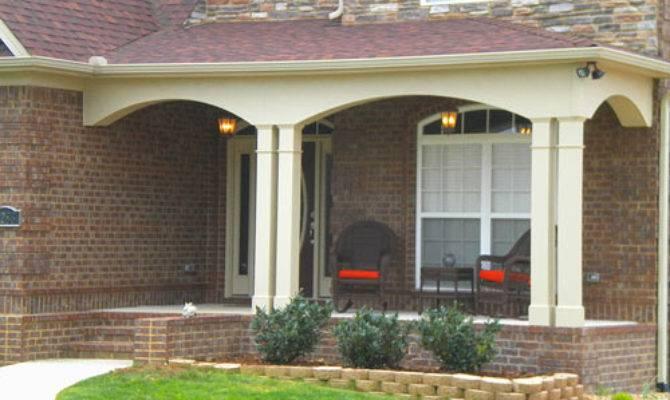 Contemporary Porches Front Porch Plans