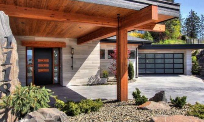 Contemporary Porte Cochere Design Ideas Remodels Photos