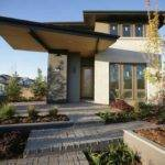 Contemporary Prairie Style House Plans Window