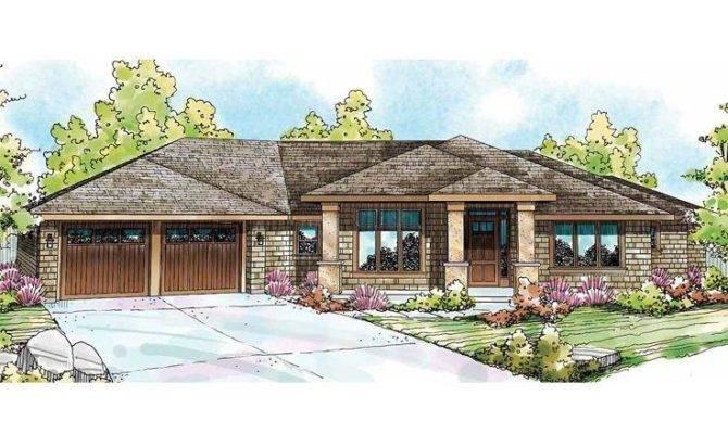 Contemporary Ranch House Plans Photos
