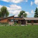 Contemporary Ranch House Plans Smalltowndjs