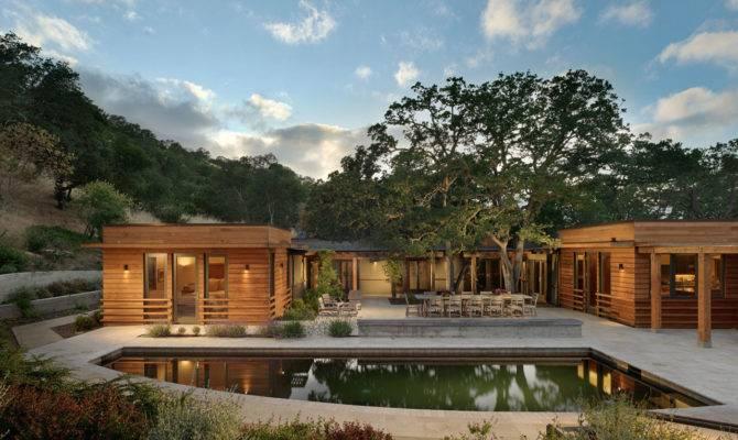 Contemporary Ranch Style House California Homedezen