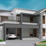 Contemporary Sloping Roof Home Design Appliance