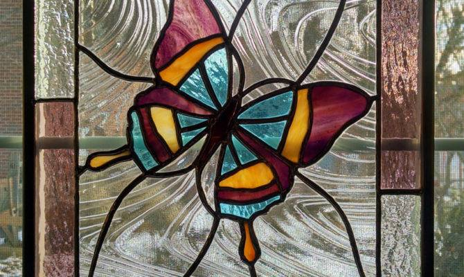 Contemporary Stained Glass Windows Designs Home Design