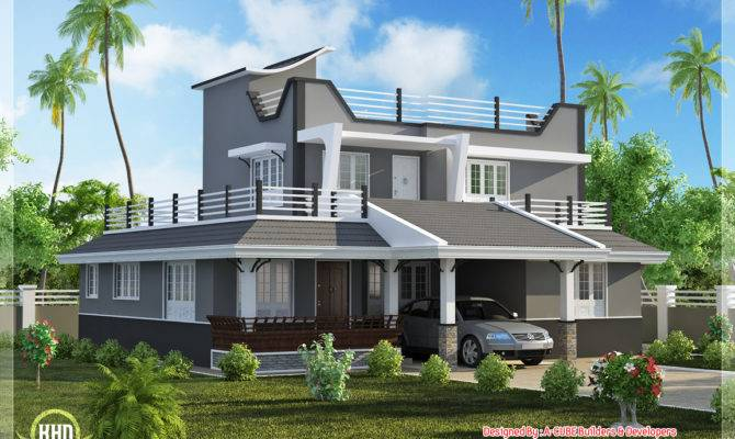 Contemporary Style Bedroom Home Plan Kerala