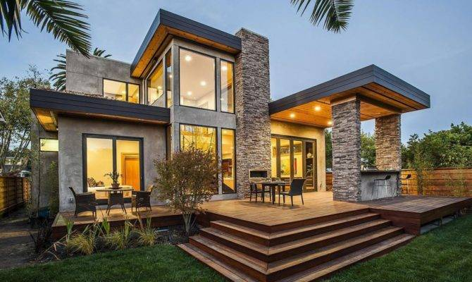 Contemporary Style Home Burlingame