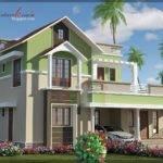 Contemporary Style Kerala House Elevation Woody Nody