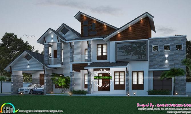 Contemporary Ultra Modern Luxury Home Kerala Design
