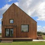 Contemporary Wooden House Architecture Exterior Ideas