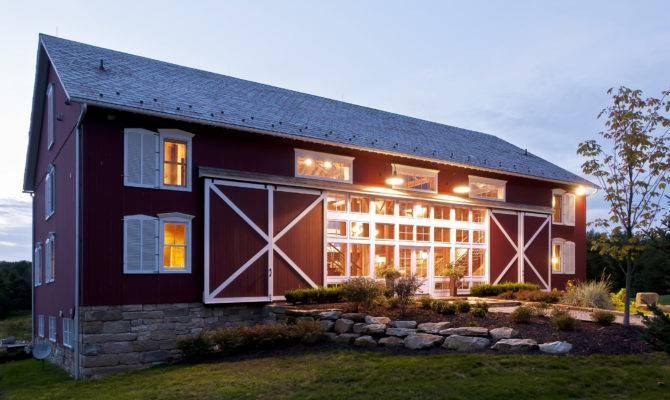 Converted Bank Barn Blackburn Architects