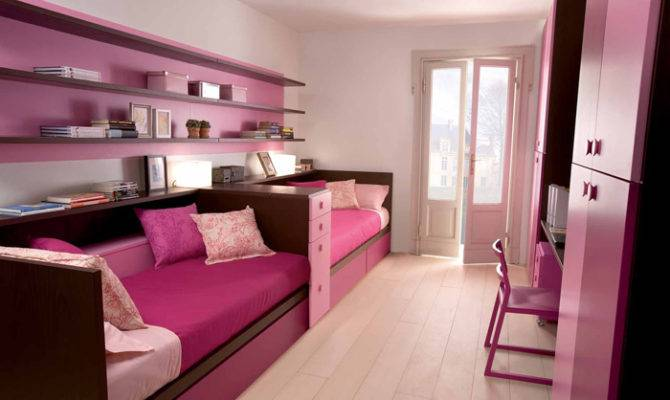 Cool Ergonomic Bedroom Ideas Two Children Dearkids