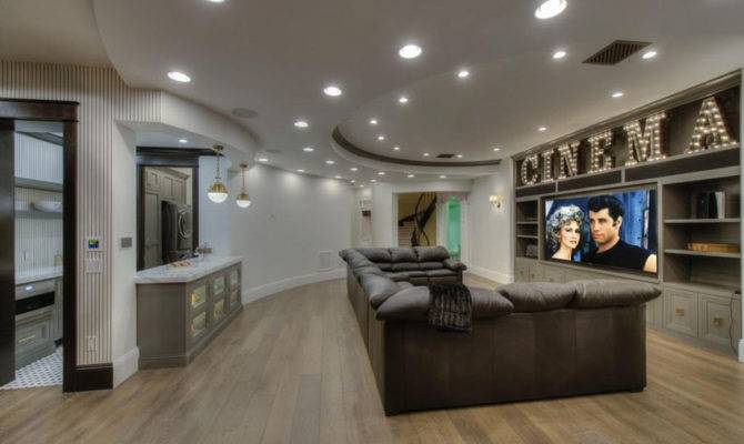 Cool Finished Basement Ideas Design