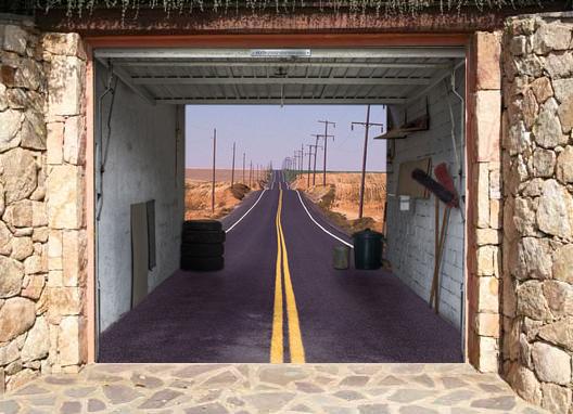 Cool Garage Doors Designs Tips Design
