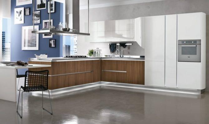 Cool Kitchen Interior Contemporary Style Modern Furniture