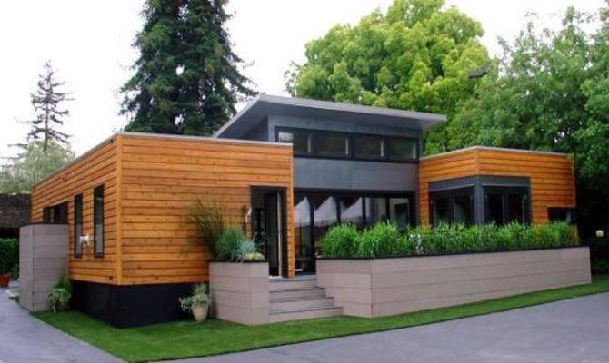 Cool Modern Modular Homes Wooden Home