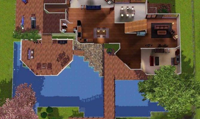 Cool Sims Houses Mod Sunset Cliffs Ocean