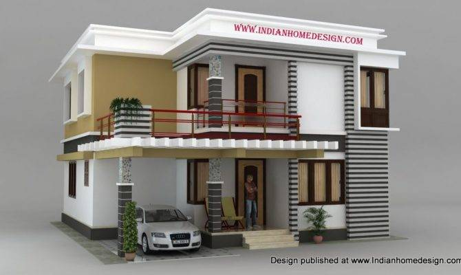 Cool South Indian House Models Design