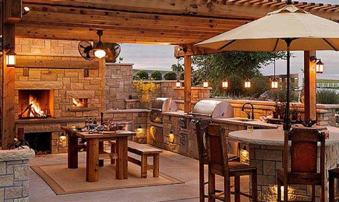 Cool Stone Outdoor Kitchen Design Plans Pixels Ikea