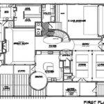 Cool Two Story House Floor Plans First Plan