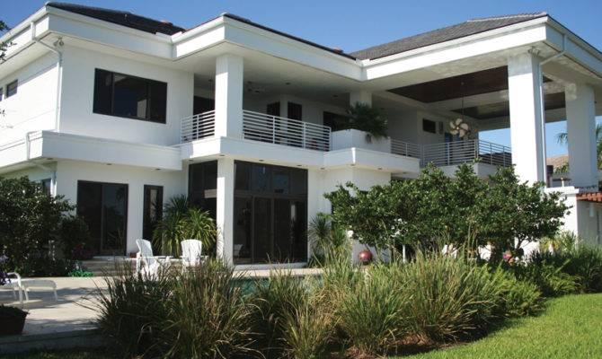 Copeland Park Modern Home Plan House Plans
