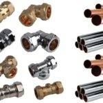 Copper Pipe Chrome Plumbing Fittings Compression