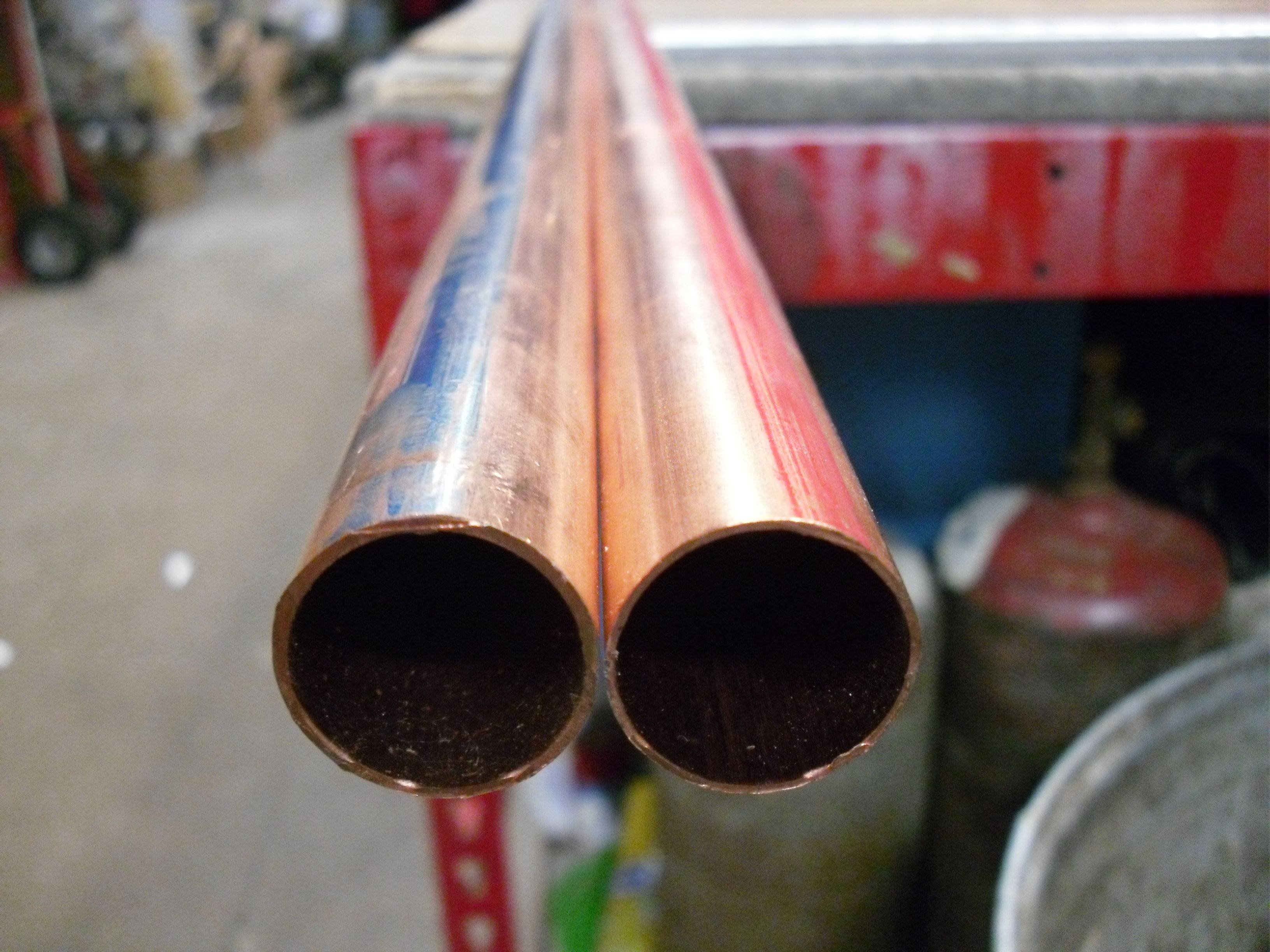 Copper Pipe Easy Right Tools Some Diy Plumbing Tips