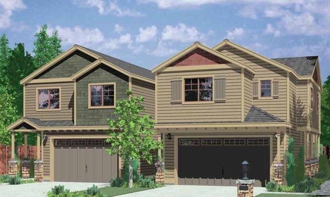 Corner Duplex House Plans