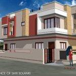Corner House Designed Navneet Pandey Design Simple