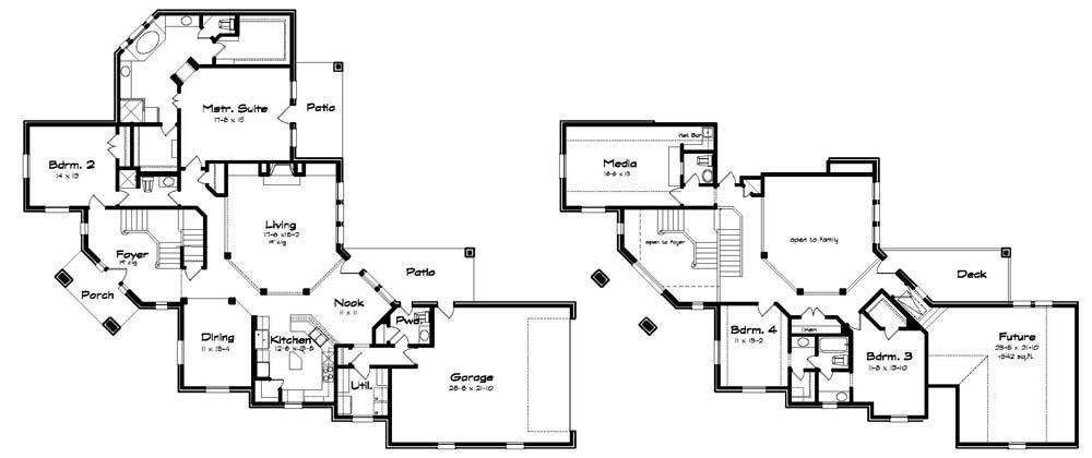 Corner Lot House Plans Home Design