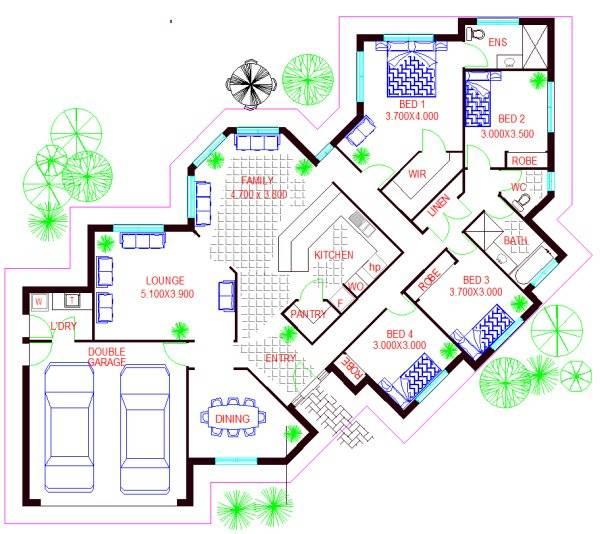Corner Lot Kit Home New Floor Plans Ideal