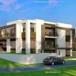 Corner Plot Beautiful Modern House Design Rawalpindi Pakistan