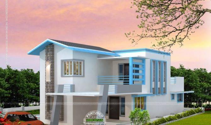 Corner Window House Plan Kerala Home Design Floor Plans
