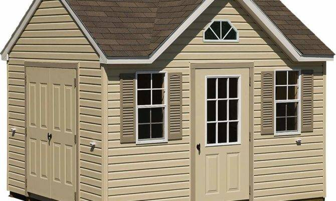 Cost Build Shed Backyard Storage